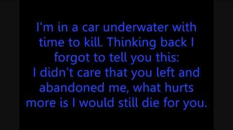 Car Underwater - Armor for Sleep Lyrics
