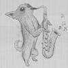 Saxophone Chihuahua