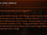 Compromised Carrier Signal