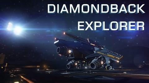 Ship Introducing Diamondback Explorer - Elite Dangerous Short cinematic video