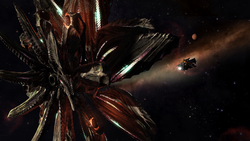 Thargoid-and-Diamondback-Ships