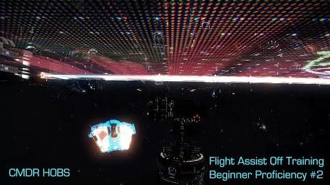 "Elite Dangerous - ""Flight Assist Off Training"" Beginner Proficiency 2"
