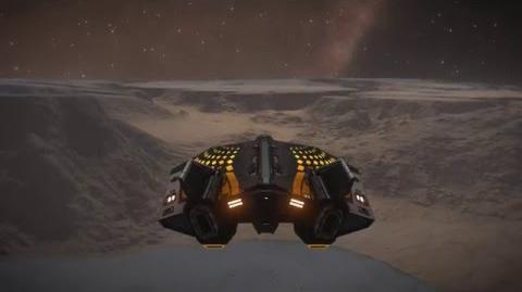 Elite Dangerous - Canyon Flight