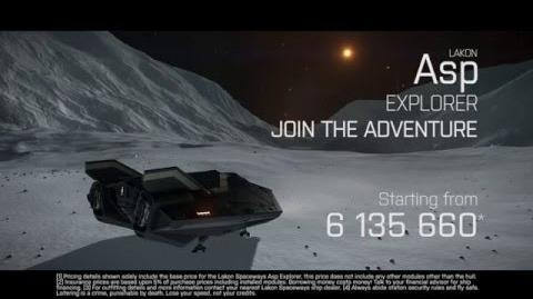 Join the Adventure - Elite Dangerous Asp Explorer
