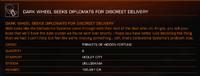 Dark Wheel Faction Mission