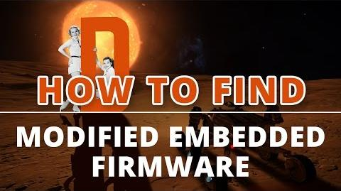 Elite Dangerous - How to Find Modified Embedded Firmware?