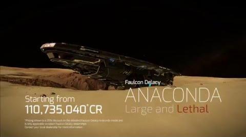 Large and Lethal - Elite Dangerous Anaconda