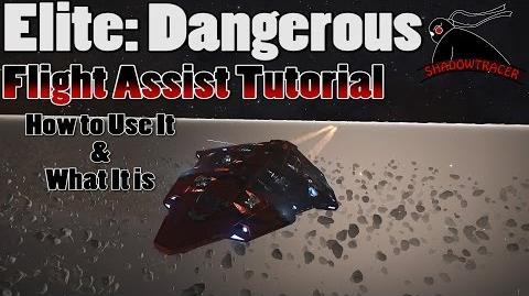 Elite Dangerous - Flight Assist Tutorial & Bonus Anaconda Killing