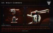 AX Multi-cannon