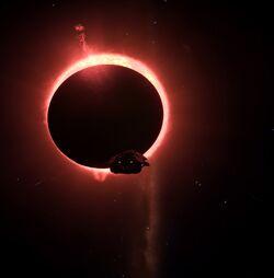 Solar Eclipse and Anaconda