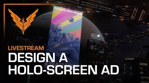 Design A Holo-Screen Advert Winners