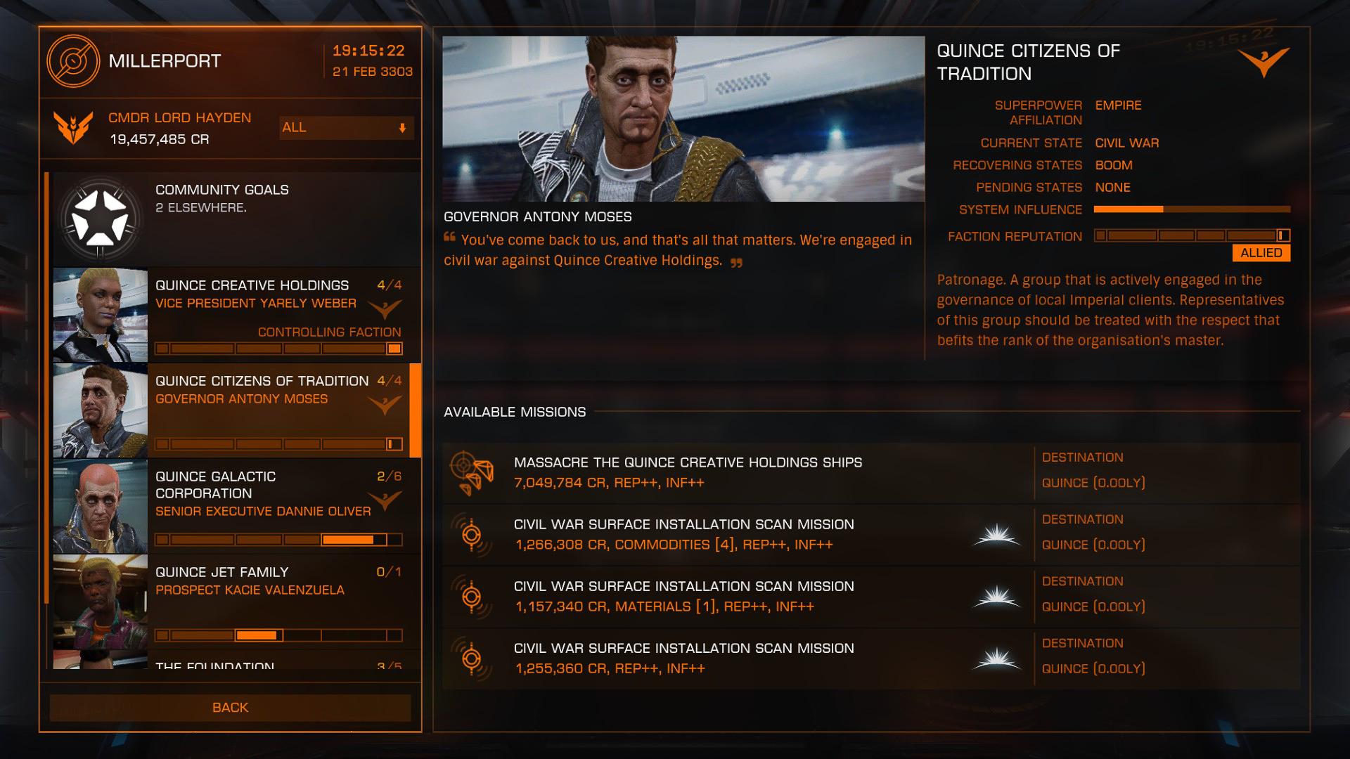 Mission Board | Elite Dangerous Wiki | FANDOM powered by Wikia