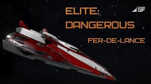 Elite-Dangerous - Обзор кораблей - Fer-de-Lance
