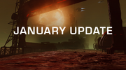 January Update splash
