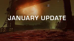 January Update splash