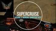 Elite Dangerous - Enable Supercruise Manually