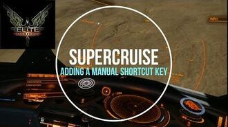 Elite Dangerous - Enable Supercruise Manually