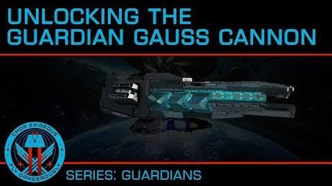 Tutorial- Unlocking the Guardian Gauss Cannon