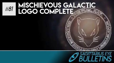 Sagittarius Eye Bulletin - Mischievous Galactic Logo Complete