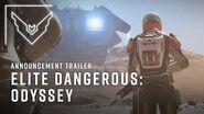 Elite Dangerous Odyssey Announcement Trailer
