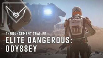 Elite Dangerous Odyssey Announcement Trailer