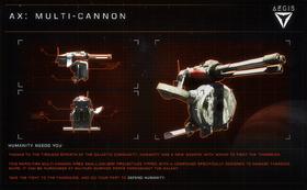 Aegis AX Multi-cannon
