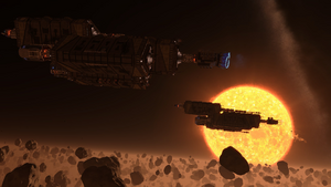 Dredger-Megaship