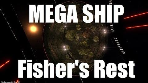 Elite Dangerous - Mega Ship Fisher's Rest - Beta 2