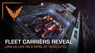 Fleet Carriers - Content Reveal