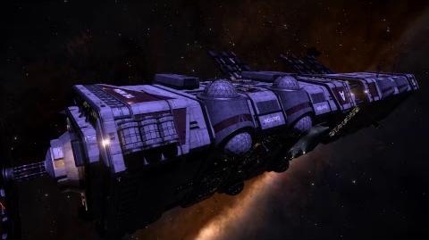 Elite Dangerous Megaship, The Indra
