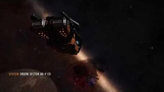 Elite Dangerous SRV Exploring near Barnard's Loop