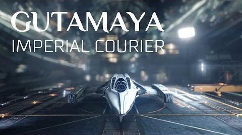 Ship Introducing Imperial Courier - Elite Dangerous Short cinematic video