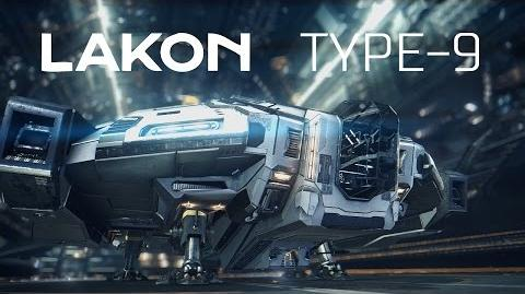 Ship Introducing Type-9 Heavy - Elite Dangerous Short cinematic video