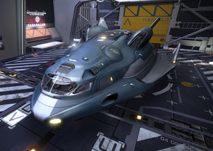 Adder-docked-ship