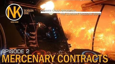Carrier Signal Decrypting - Mercenary Contracts Elite Dangerous