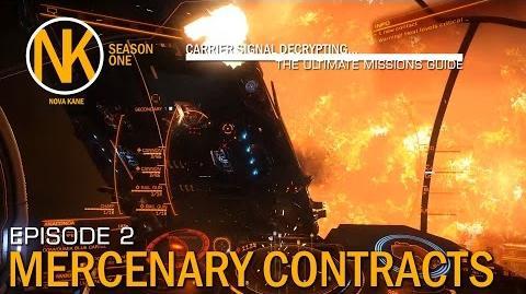 Carrier Signal Decrypting - Mercenary Contracts Elite Dangerous