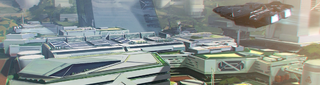 Federal Cityscape