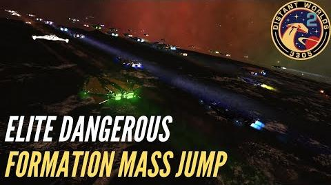 Distant Worlds 2 Formation Flying Mass Jump ELITE DANGEROUS Waypoint 5
