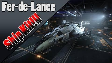 Elite Dangerous - 2.3 - Fer-de-Lance Ship Kit!!!