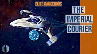 The Imperial Courier Elite Dangerous