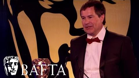 David Braben is awarded the BAFTA Games Fellowship in 2015