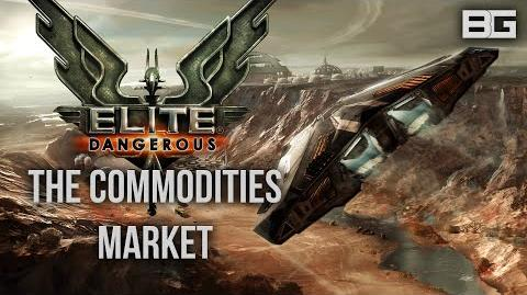 Elite Dangerous - Understanding the Commodities market