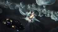 Python-Mining-Asteroid-Explosion