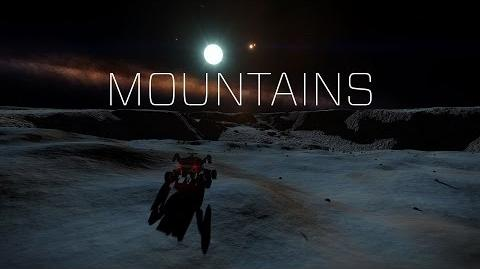 Elite Dangerous Mountains