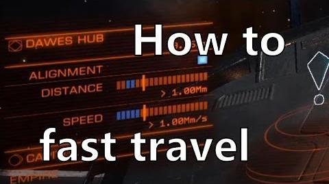 Elite Dangerous Tutorial Fast Supercruise Travel