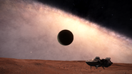 2300 ly below galactic plane