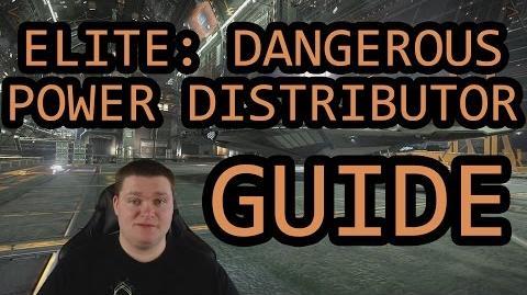 Elite Dangerous - Power distributor guide