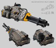 Class 2 Multi-Cannon Concept Art