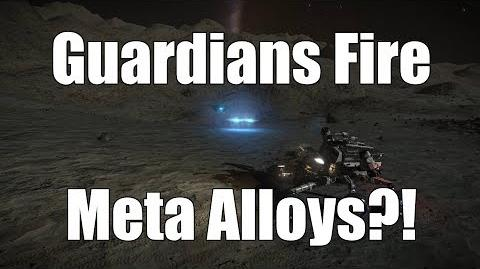 Elite Dangerous - Guardian Sentinels Fire Meta Alloys?!