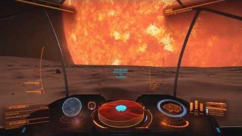 Elite Dangerous Flight to Betelgeuse